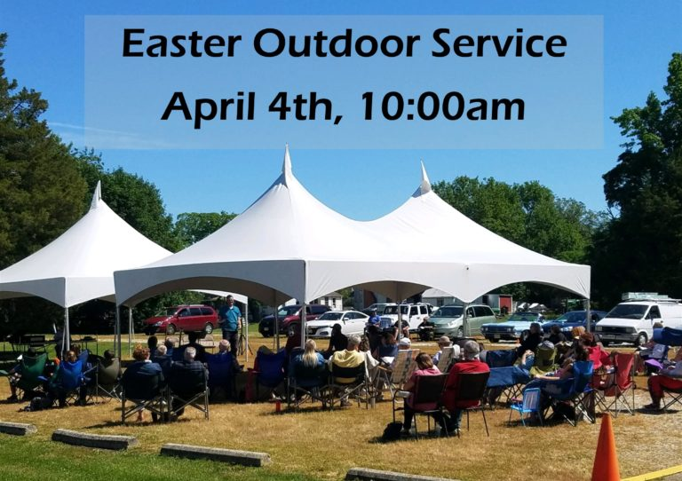 Easter Outdoor Service 2021